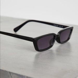 BCBGeneration black retro sunglasses